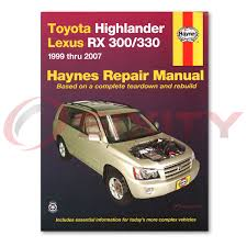 lexus rx300 exhaust diagram lexus rx300 haynes repair manual base shop service garage book yo