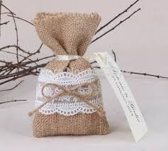 burlap party favor bags 50pcs lot size 4 x6 5 rustic wedding favor bags burlap lace gift