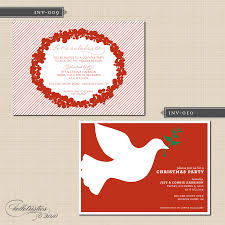 christmas cocktail party invitations belletristics stationery design and inspiration for the diy bride