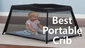best portable baby crib travel folding crib youtube