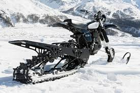snow motocross bike snow go northern lights u0027 yamaha hl500 bike exif