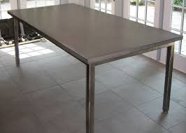 diy stainless steel table top 8 best concrete tables images on pinterest concrete kitchen