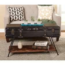 Vintage Trunk Coffee Table Storage Trunk Coffee Table Ebay