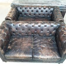 Vintage Leather Sofas Vintage Leather Chesterfield Union Jack Sofa Shakunt Vintage