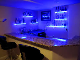 bathroom beauteous led strip floating shelf furniture lighting