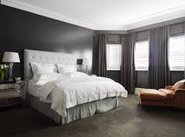 awesome large master bedroom with grey headboard grey rug brown