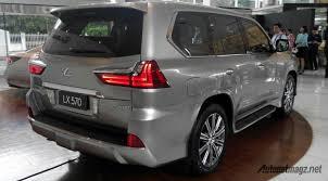 lexus lx 570 indonesia lexus lx570 rear autonetmagz