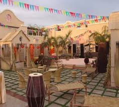 Indian Themed Party Decorations - village theme party