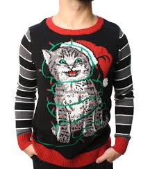 ugly christmas sweater with lights ugly christmas sweater teen boy s cat lights led light up sweatshirt