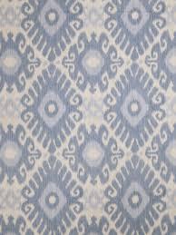 denim blue ikat upholstery fabric light blue curtain