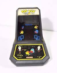 Pacman Game Table by Coleco Vintage 1981 Pac Man Mini Arcade Table Top Video Game No