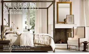 all canopy u0026 four poster beds rh