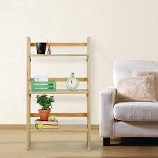 casual home 331 8 three tier folding student bookcase walmart com