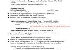 Front End Developer Resume Spectacular Idea Resumes Formats 3 Resume Formats Resume Example