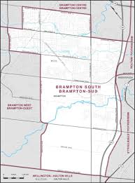 Road Map Of Canada by Brampton South Maps Corner Elections Canada Online