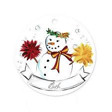 usc snowman ornament timree