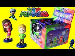 pj masks complete mystery blind bags case opening