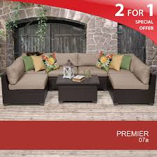 7 piece patio furniture sets 7 piece wicker patio set