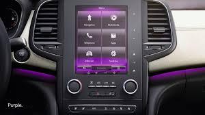 renault purple design interior renault talisman renault ksa