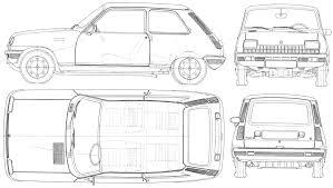 Blueprint Door Symbol by Car Blueprints чертежи автомобилей Renault