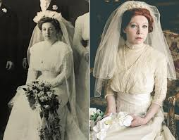 wedding dress up for wears 4 generations of wedding gowns