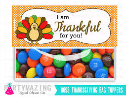last minute printable thanksgiving bag toppers turkey thank you