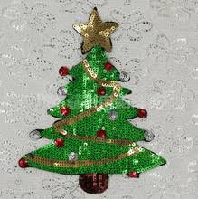 popular christmas sequin appliques buy cheap christmas sequin