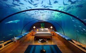 you can hire underwater suites in burj al arab dubai with giant