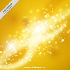 lights background in yellow color vector free