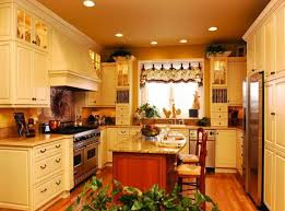Country Kitchen Remodel Ideas Small Country Kitchen Unfinished Cabinets Design