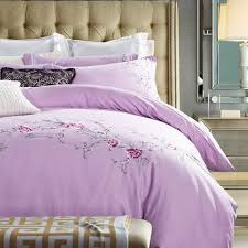 online shop rose embroidered bedding sets queen king size bedlinen