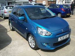 mitsubishi mirage hatchback 2015 used mitsubishi mirage 2015 for sale motors co uk