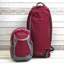travel packs images Highlander raspberry 60 20 backpack for travelling ladies travel jpg