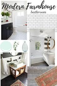 Modern Farmhouse Bathroom Dreaming Of Modern Farmhouse Bathroom Remodel Newman S Nest