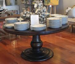 dining room large round dining table 60 inch round ash pedestal