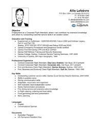 flight attendant resume tips resume cover letter template