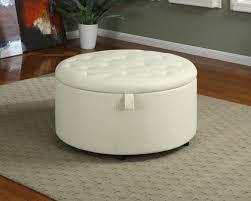 storage ottoman reversible top furniture dark brown vinyl ottoman which is having storage space