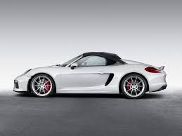 Porsche Boxster Lowered - here it is 2016 porsche boxster spyder with 3 8l