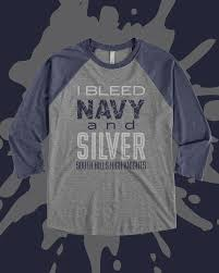 spirit halloween waco tx i bleed navy and silver design idea for custom raglan shirt