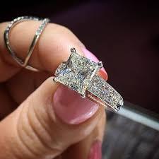 unique princess cut engagement rings 21 vintage princess cut engagement ring designs trends models