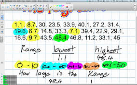 histograms grade 8 nelson math lesson 3 4 9 12 12 youtube