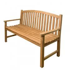 horizon 5 ft teak outdoor bench outdoor