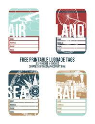travel tags images Cutest printable luggage tags pinterest printable luggage tags jpg