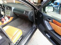 black lexus interior nj 2003 lexus gs300 sport design black with saddle interior