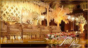 tulips event best themed wedding planner flower stage decoration
