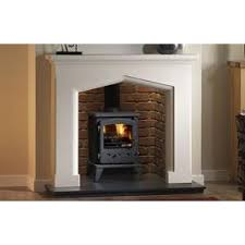 fireplace chamber for use with stove or basket