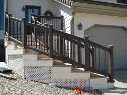 deck and stair railing update all star construction