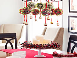christmas dinner table room decoration ideas dinner table