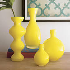 yellow vase fresh summer and yellow decor yellow accents yellow vase and