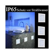 led einbauleuchten für badezimmer by philips 59923 31 10 badezimmer led einbauleuchten 3er set